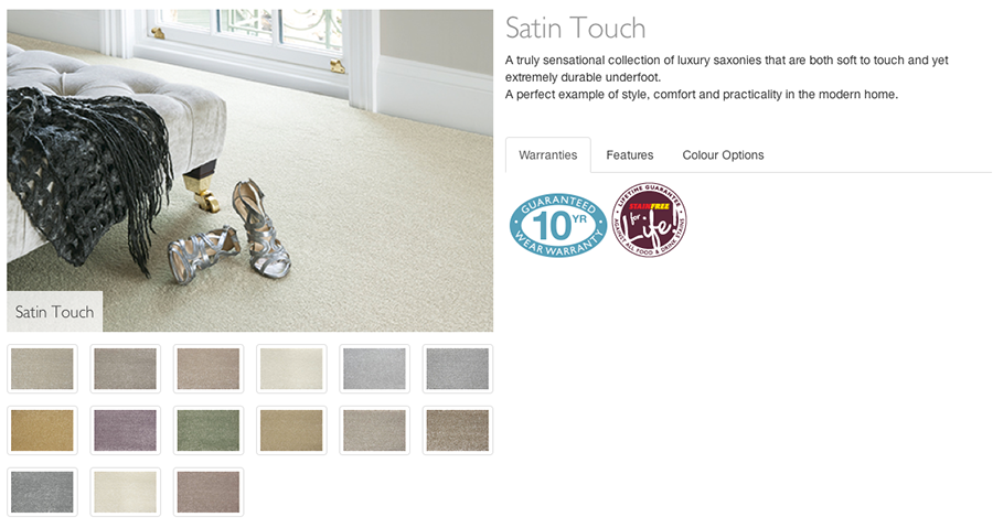 Abingdon Satin Touch