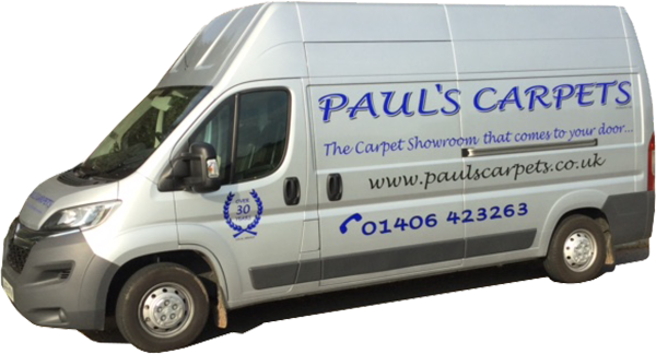 Paul's Carpets van